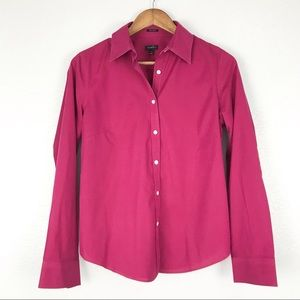 Talbots Wrinkle Resistant Button Down Shirt Size 8